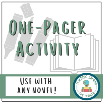 One-Pager activity to use with ANY topic