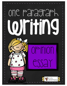One Paragraph Writing: Opinion Essays