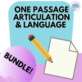 One Passage Articulation & Language Bundle