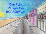 Art Lesson: One Point Perspective Beach