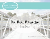 One Point Perspective: Boat Dock (Real Photo)