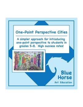 One-Point Perspective Cities!