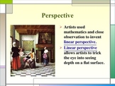 One Point Perspective PowerPoint for 5th Grade