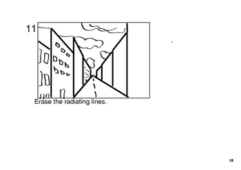 One Point Perspective Step By Step How To