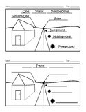 One Point Perspective Worksheet Answer Key