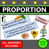 Math - Direct proportion with Money – Review - US Version