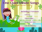 One Quiet Minute Song Versions