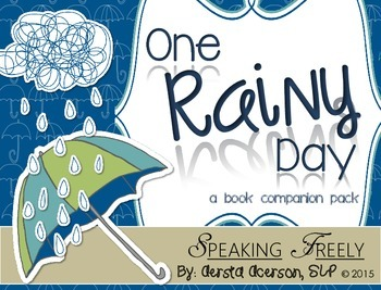 #apr2018slpmusthave: One Rainy Day: A (Mostly) No Print Book Companion Pack!