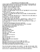 One Room School House 1800's Daily Lesson Plans