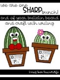 One SHARP Bunch >>> End of Year Bulletin Board Craft and Writing Activity