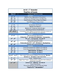 One Semester/18 week Planner Template