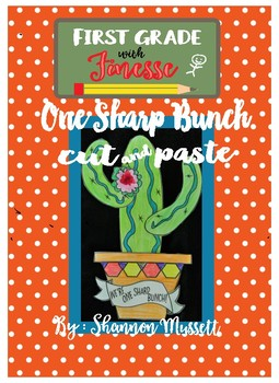 One Sharp Bunch Cactus Cut and Paste Art Activity