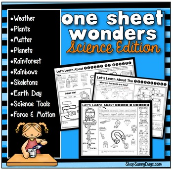 One Sheet Wonder - Science
