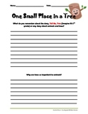 One Small Place in a Tree 3rd Grade Student Guide