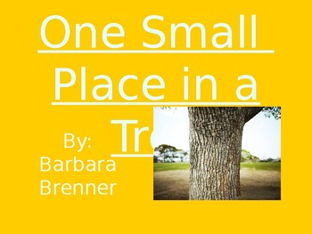 One Small Place in a Tree - Vocabulary
