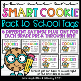One Smart Cookie Back to School Gift Tags Meet the Teacher
