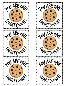 graphic regarding You're One Smart Cookie Printable identify A single Good Cookie Printable Worksheets Academics Pay out Academics