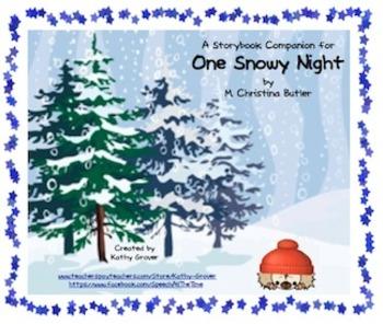 One Snowy Night A Storybook Companion