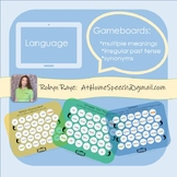 One Speech-Language Therapy Gameboard... Multiple Goals