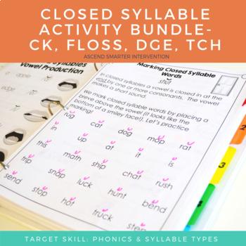 OG Spelling Rules: ck, Floss, tch, dge