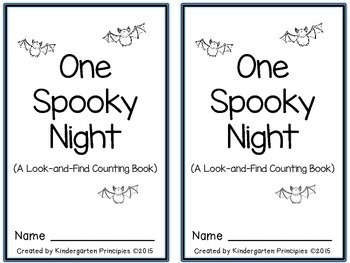 Halloween Emergent Reader: A Look-And-Find Counting Book