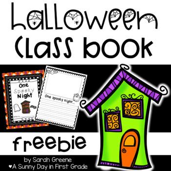 One Spooky Night! Class Book {Freebie!}