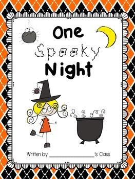 Halloween Class Book (freebie!)