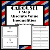 One Step Absolute Value Inequalities: Carousel Activity