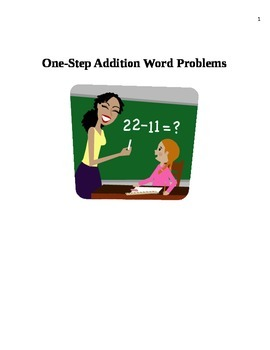 One-Step Addition Word Problems