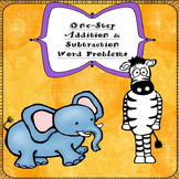 K, 1st, & 2nd Grade One Step Addition & Subtraction Word Problems (250 Problems)