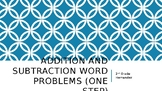 One-Step Addition and Subtraction Word Problems