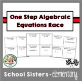 One Step Algebraic Equations Race