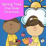 One-Step Direction Activities *Spring Edition