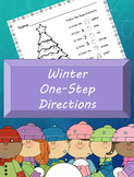 One-Step Direction Activities *Winter Edition
