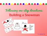 One-Step Directions: Build a Snowman