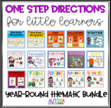 Autism Speech Therapy One Step Directions Bundle