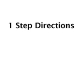 Following 1-Step Directions FREE - Speech Therapy