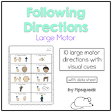 One-Step Directions: Large Motor