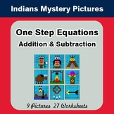 One Step Equation - Addition & Subtraction - Color-By-Numb