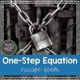 One Step Equation Escape Room