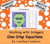 One-Step Equation Halloween Activity