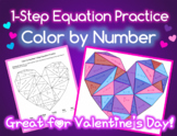 One-Step Equation Practice: Color by Number