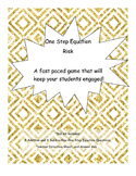 One Step Equation Risk