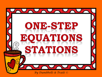 One-Step Equation Stations (Inverse Operations)