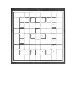 One-Step Equation Sudoku