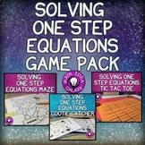 Solving One Step Equations Bundle
