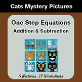 One-Step Equations (Addition & Subtraction) - Math Mystery