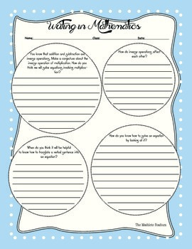 One-Step Equations (Addition and Subtraction) Worksheets