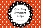 One Step Equations Bingo without Negatives