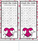 One Step Equations Crack the Code Valentine's Day Activity